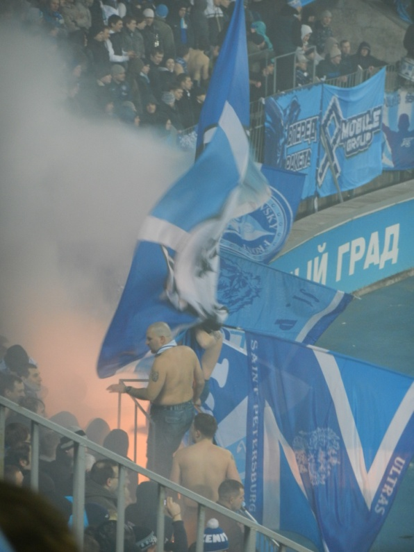 Light Blue White Dark Blues But Is There Room For Black In Zenit St Petersburg S Famous Tricolor Myplace