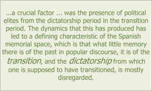 Spanish D2_1 blog transition and dictatorship quote