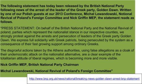 BNP Statement