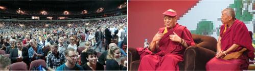 The Dalai Lama's Public Lecture in RIga